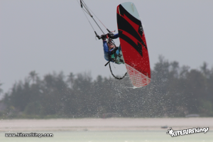 Kitesurf Back Roll